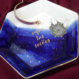 Sigue Tus Suenos Trinket Tray Jewelery Dish